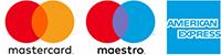 Visa vagy Mastercard Bankkártyás fizetés